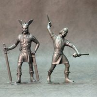 Barbarians, set of two figures #2 - Image 1