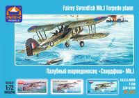 Fairey Swordfish Mk.I British carrier-borne torpedo plane