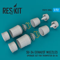 Su-34 exhaust nozzles (for Trumpeter Kit) - Image 1