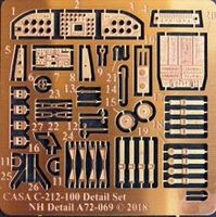 CASA C-212-100 Detail set for Special Hobby - Image 1