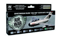 71610 Air War Color Series - Soviet/Russian Colors Cold War Silver Darts 1950-1980 - set