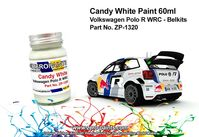 1320 Candy White Volkswagen Polo R WRC - Image 1
