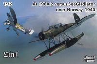 Ar 196A-2 versus Sea Gladiator over Norway 1940 - Image 1