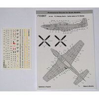 Stencils for P-51 Mustang