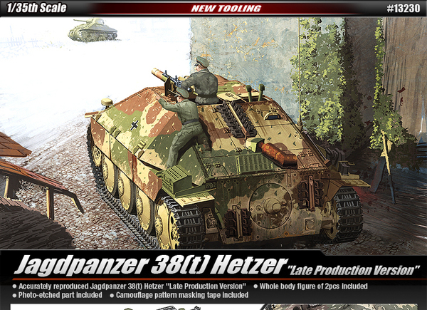 Jagdpanzer 38(t) Hetzer [Late Production Version] - Image 1