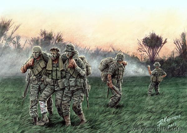 US Soldier at rest #1 Vietnam 1//35 LF0016