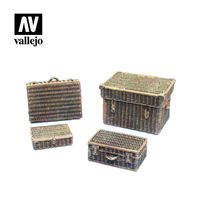 Wicker Suitcases - Image 1