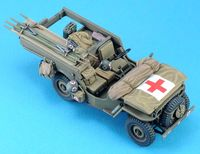 Willys Ambulance Conversion set (for 1/35 Willys,w/Decal)