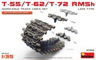 T-55/T-62/T-72 RMSh WORKABLE TRACK LINKS SET. LATE TYPE - Image 1