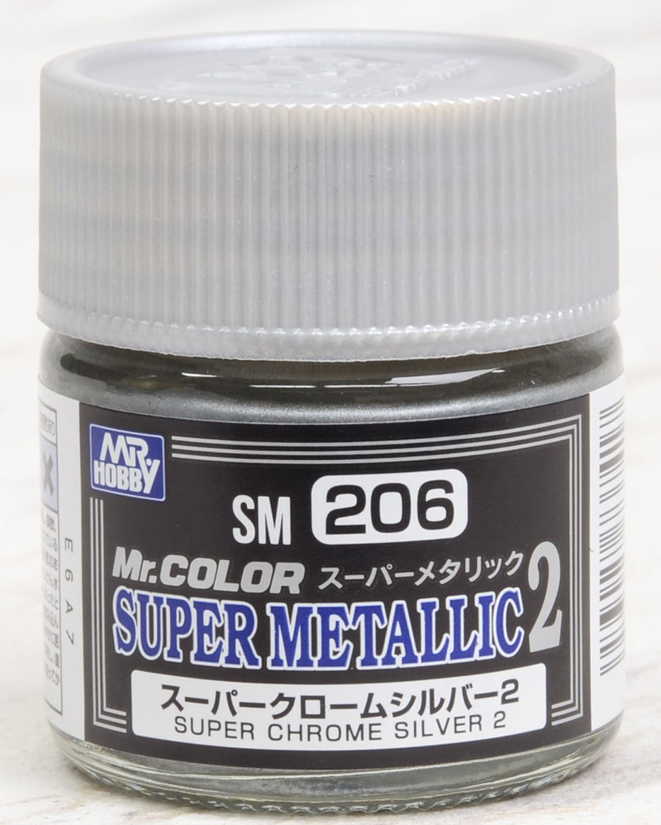 SM-206 Super Chrome Silver 2 - Image 1