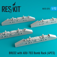 BRU32 with ADU-703 Bomb Rack (4PCS) - Image 1