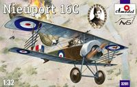French fighter Nieuport 16C (Lt.Albert Ball) - Image 1
