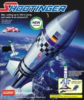 Shootinger water rocket for assembly - Image 1