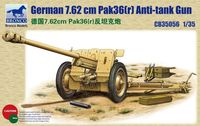 Germ35056an 76.2mm Pak36(r) Anti-Tank Gun - Image 1