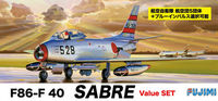 F86-F 40 Sabre Value SET