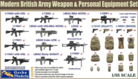 British Army Weapon & Personal Equipment Set