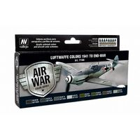 71166 Air War Color Series - Luftwaffe Colors 1941 to End War Set
