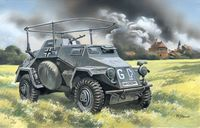 Sd.Kfz.223 WWII German radio communication vehicle