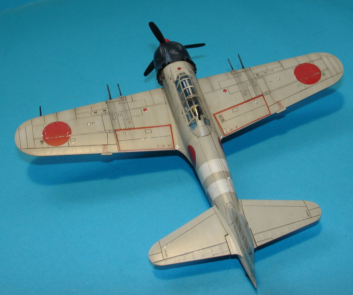A6M5 Zero Fighter 1/72 Hobby Boss 80241 - 002 - Image 1