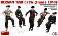 GERMAN TANK CREW (France 1940) - Image 1
