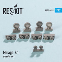 Dassault Mirage F.1 wheels set - Image 1