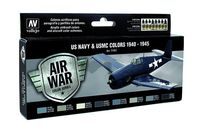 71157 Air War Color Series - US Navy & USMC Colors 1940 - 1945 Set