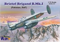 Bristol Brigand B.Mk.I (Pakistan, RAF) British light and fast bomber - Image 1