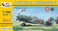 Curtiss H-75/Mohawk III (2in1)