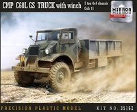 CMP C60L GS Truck with winch 3 ton 4x4 chassis Cab 11