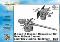U-Boot IX Weapon Conversion set for REV detail set - Image 1
