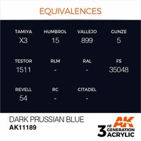 AK 11189 Dark Prussian Blue