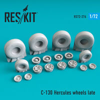 C-130 Hercules wheels late