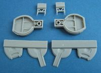 Vampire FB Mk.9 Main wheel well for Trumpeter - Image 1