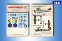 DH 82b Queen Bee Part 1 The kit contains resin 3D and photo-etched parts, decal - Image 1