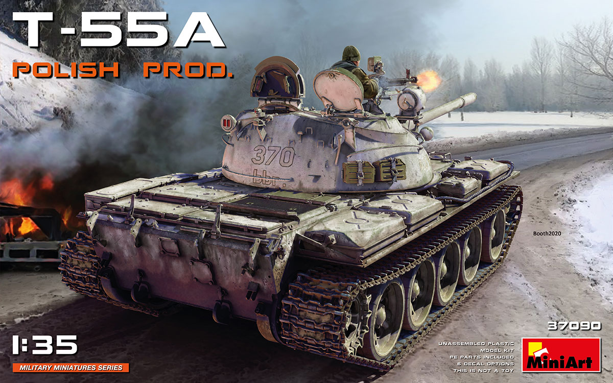 T-55A Polish production - Image 1