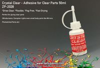 Crystal Clear - Adhesive for Clear Parts