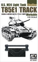 T85E1 Track Workable for U.S. M24 Light Tank Chaffee