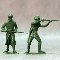 Red Army, set of two figures #1