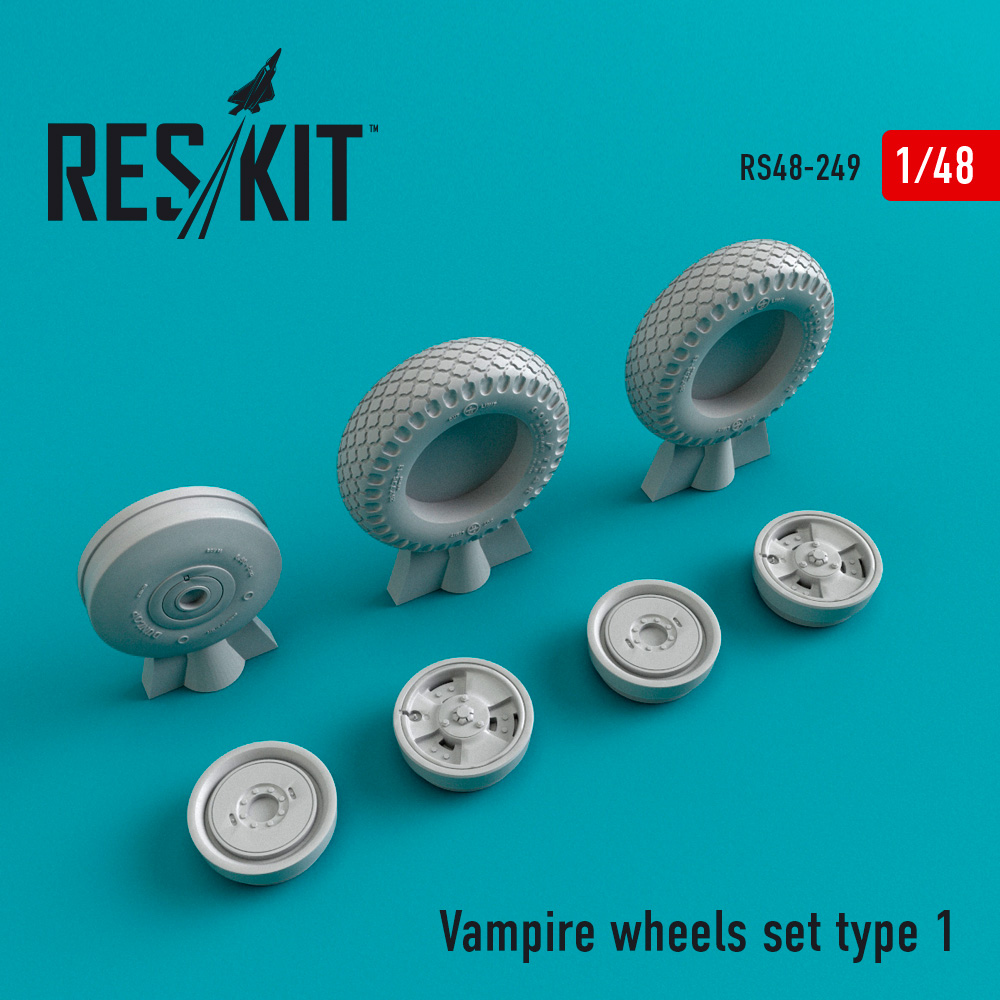 Vampire type 1 wheels set - Image 1