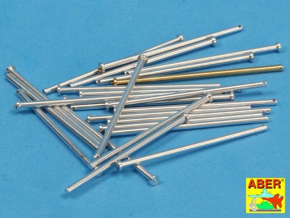 Panzer IV track link pins x 25 pcs. - Image 1