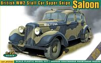 British WW2 Staff Car Super Snipe Saloon