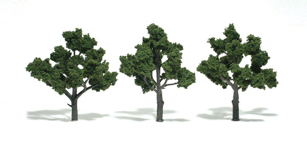 Medium Green Trees (3 szt.) - Image 1