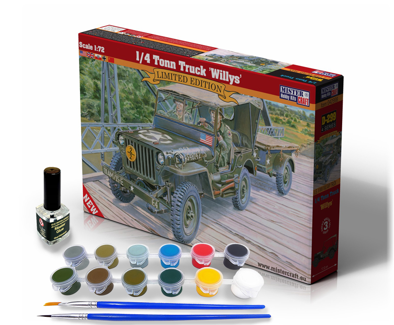 1/4 Tonn Truck Willys - Model Set - Image 1