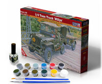 1/4 Tonn Truck Willys - Model Set