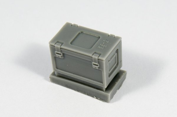 British ammo boxes for 0,303 ammo (metal pattern) - Image 1