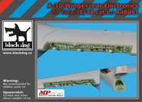 A-10 wings + rear electronics for Italeri