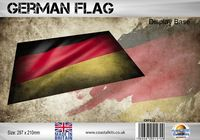 German Flag 297 x 210mm - Image 1
