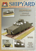 Zeppelin Armored Railroad Car    skala 1:25