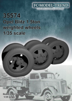 Opel Blitz 1,5 ton weighted wheels - Image 1