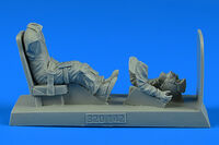 U.S.A.F. Pilot with seat for O-2 KINETIC / HASEGAWA / ITALERI